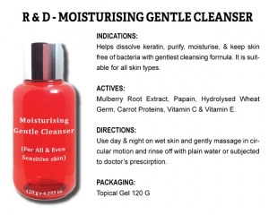 R & D Moisturizing Gentle Cleanser