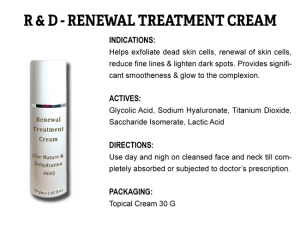 R & D Renewal Treatment Cream