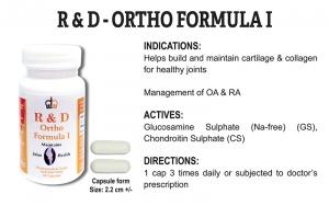 R & D Ortho Formula I