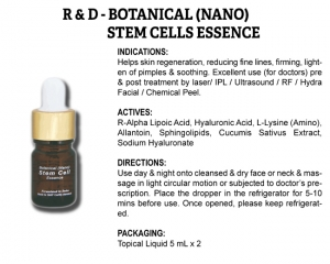 R & D Botanical (Nano) Stem Cell Essence