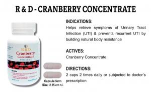 R & D Cranberry Concentrate