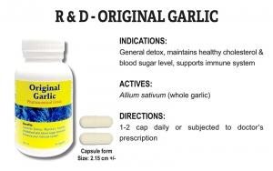 R & D Original Garlic