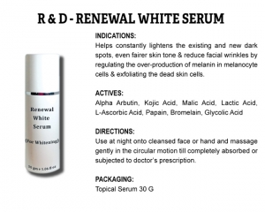R & D Renewal White Serum