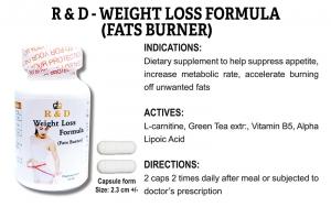 R & D Weight Loss Formula