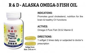 R & D Alaska Omega-3 Fish Oil